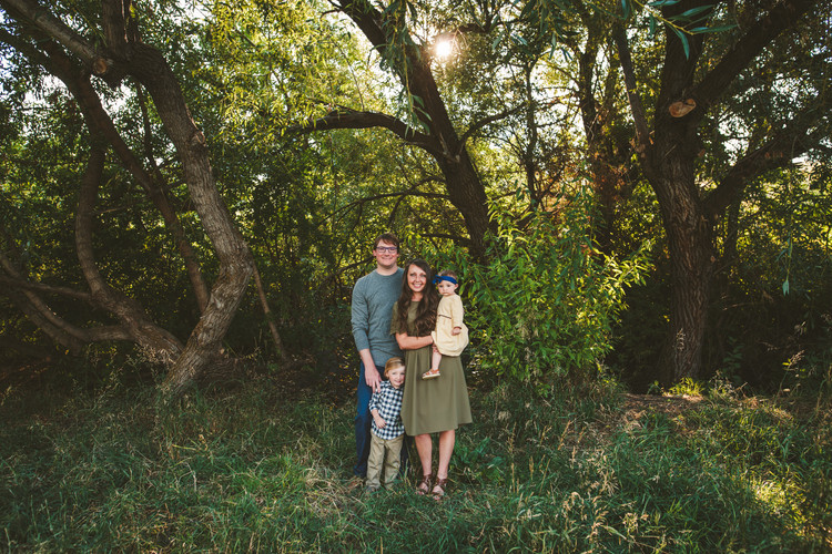 Bozeman Family Photos at Pete's Hill in Bozeman Montana