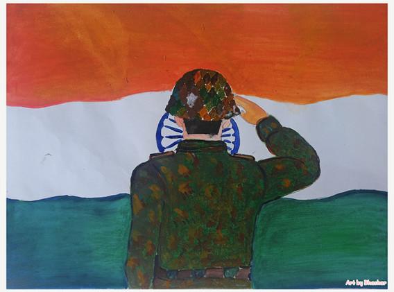 Art by BhaskarJyoti Nath