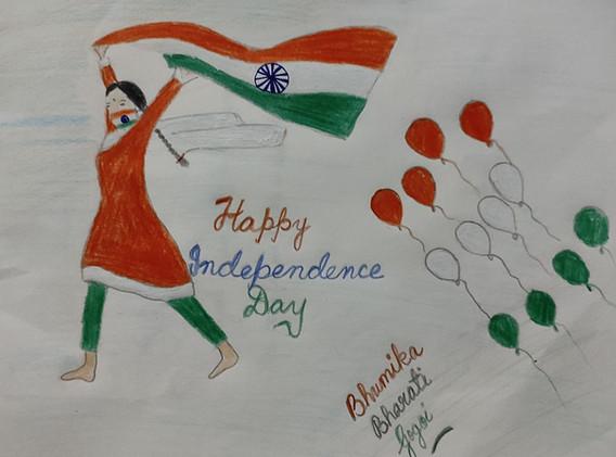 Art by Bhumika Bharati Gogoi