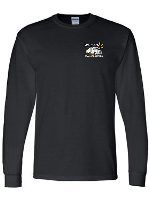 Walmart Transportation with Truck LC Long Sleeve