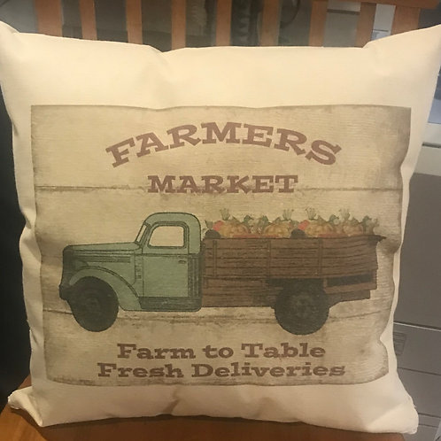 "16""X16"" CANVAS PILLOW"