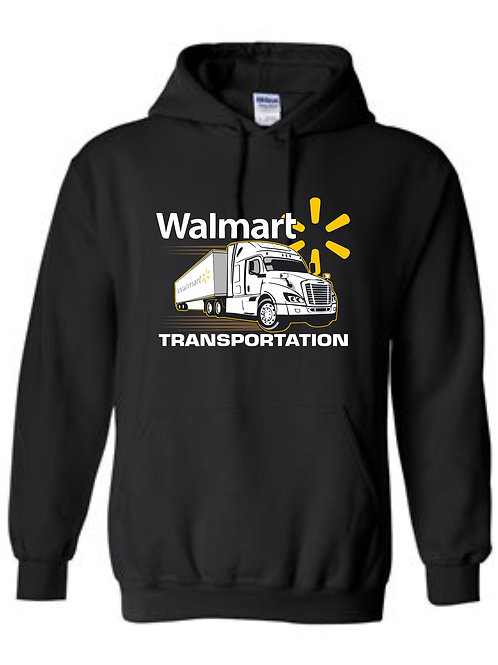 Walmart Transportation with Truck Hoodie