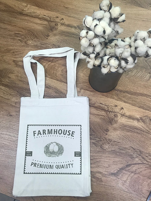 TOTE BAG- farmhouse eggs