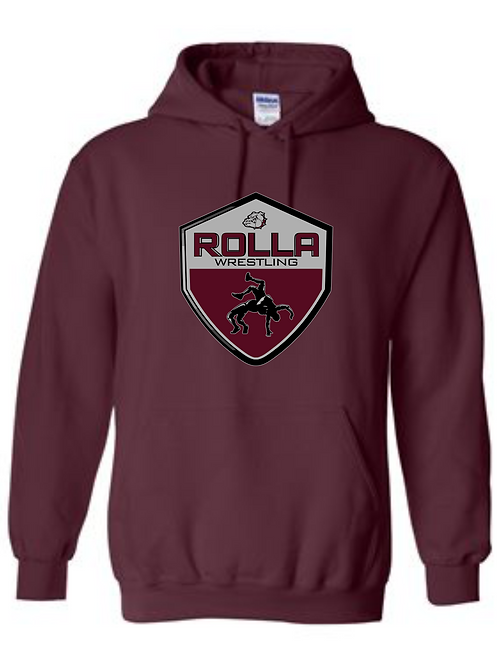 ROLLA BULLDOGS HOODED FF