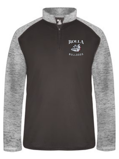 ROLLA SPORTS QUARTER-ZIP PULLOVER EMBROIDERED