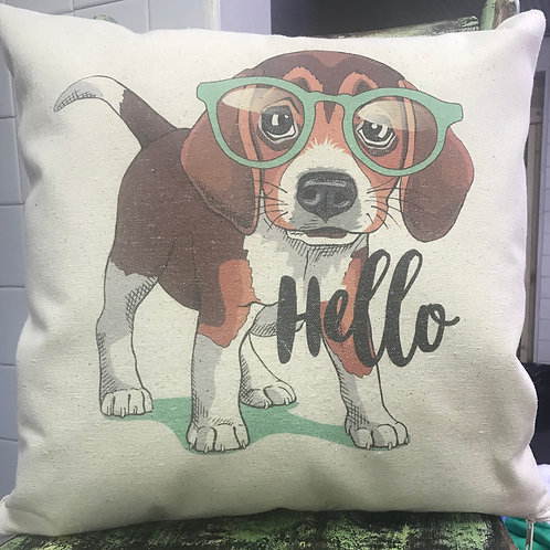 "16"" X 16"" CANVAS PILLOW"