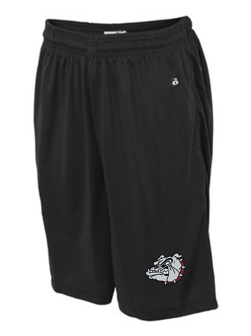"ROLLA BULLDOGS 7"" SHORTS WITH POCKETS"