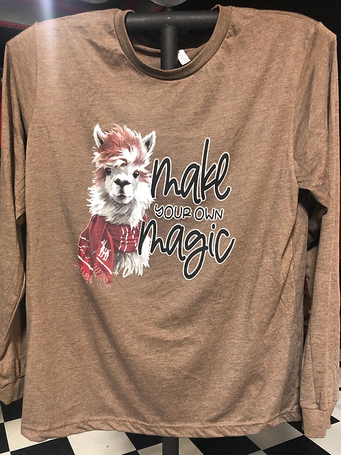 MAKE YOUR OWN MAGIC LONG SLEEVE