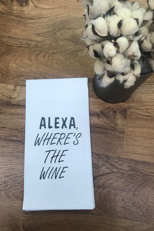 ALEXA WHERE'S THE WINE