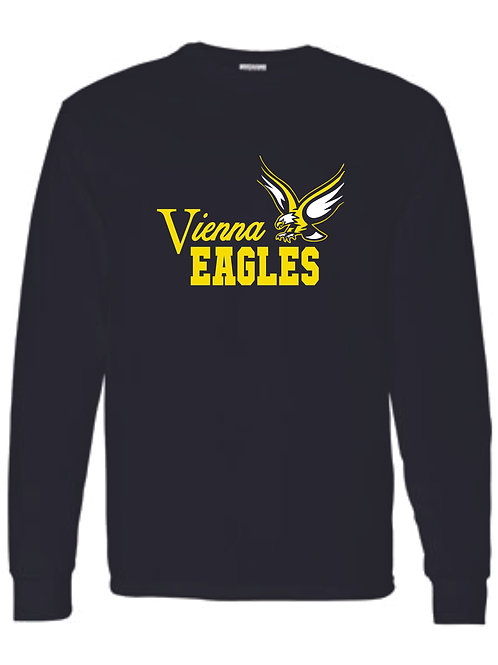 VIENNA EAGLES LONG SLEEVE GILDAN 8400