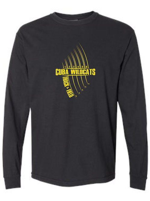 Comfort Color  Heavy Weight Long Sleeve T Black