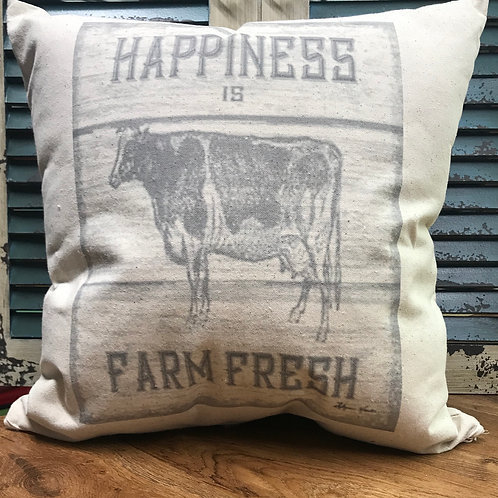 "16""X16"" CANVAS PILLOW-"