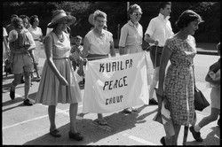 Women from Kurilpa Peace Group during Al