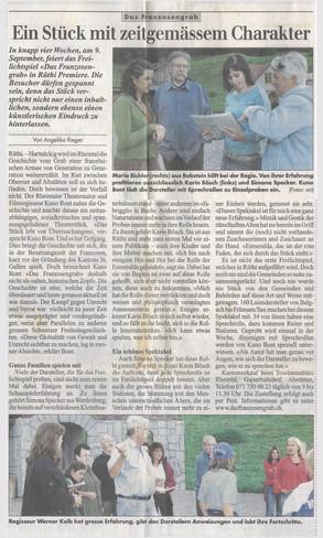 20050811 Volkszeitung Franzosengrab