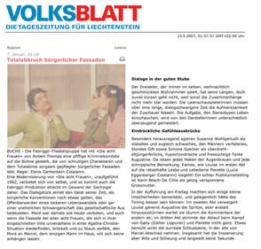 20070107 Volksblatt 8 Frauen