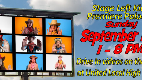 Tickets ON SALE NOW for Stage Left Kidz Premiere Palooza!