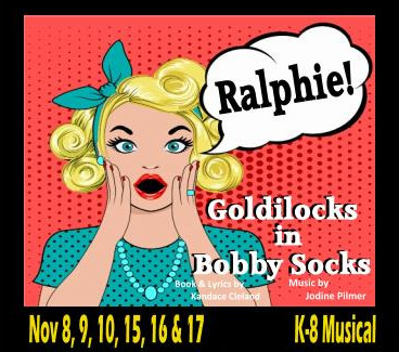 Goldilocks First Rehearsal TUESDAY, 10/8!