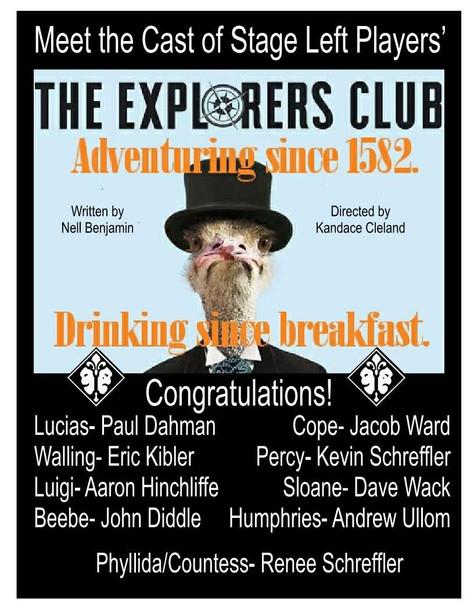 Congratulations Cast of The Explorers Club
