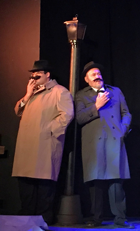 The 39 Steps! Two more weekends!