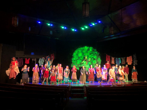 """Stage Left Youth Players open """"Once On This Island"""" this Friday, January 11th at 7 PM."""