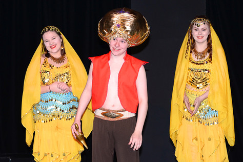 Aladdin Jr Takes the Stage Tonight!