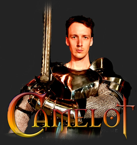 "Reed Allen Worth (AEA) returns to Trinity Playhouse Stage to star as Lancelot in ""Camelot"""