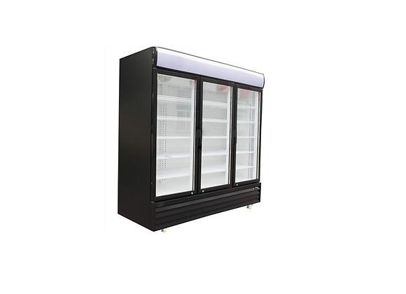 """NSF 67.3"""" Triple Swing Door Merchandiser Refrigerator 52 cu.ft. / 1483 L-GTC-55"""