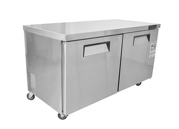 NSF 60″ Under-counter & Work Top Refrigerator -KTR60