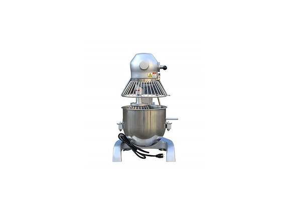 NSF 20 qt. Commercial Planetary Floor Baking Mixer with Guard and Timer-HLM-20B