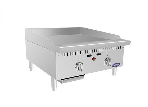 """NSF ATMG-24T HD 24"""" Thermo-Griddle with Total 50,000 BTU (w/ 3/4"""" griddle plate)"""