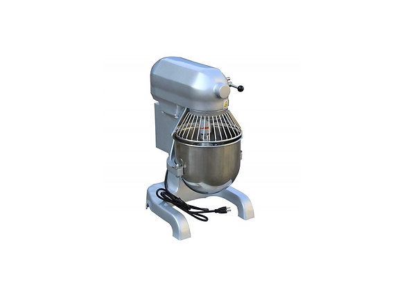 NSF 10 qt. Commercial Planetary Floor Baking Mixer with Guard and Timer- HLM-10A