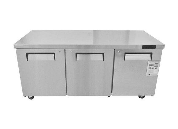 NSF 72″ Under-counter & Work Top Refrigerator -KTR72