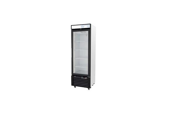 NSF 12 cu/ft Glass Door Merchandiser Refrigerator - C-12RM