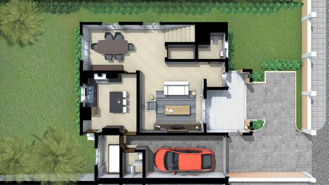 FLORA HOUSE MODEL GROUND FLOOR