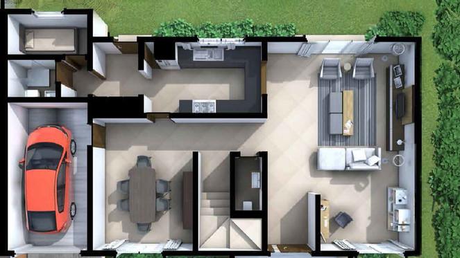 IRIS HOUSE MODEL GROUND FLOOR
