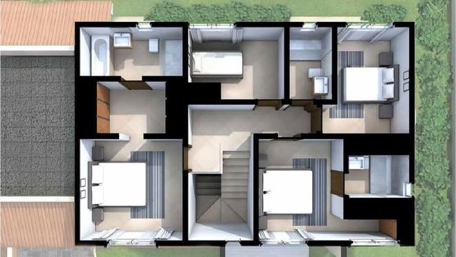 IRIS HOUSE MODEL TOP FLOOR