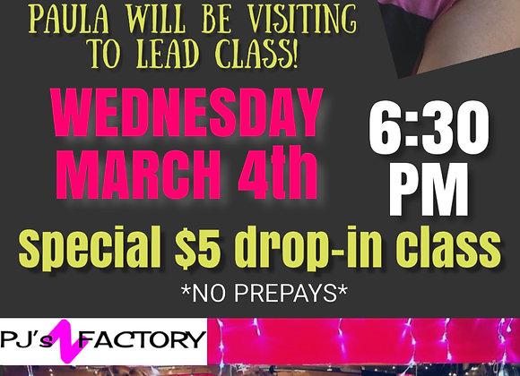 Paula's Back Zumba Class