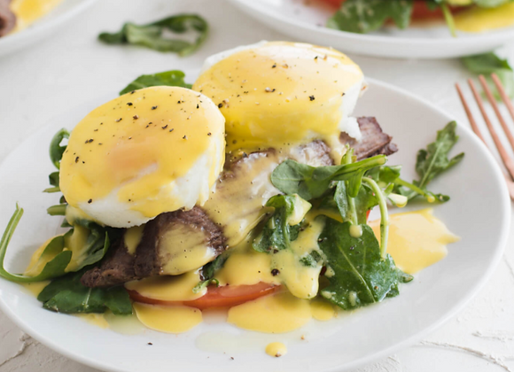 Steak and Egg Benedict