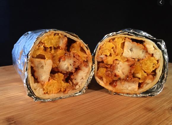 Chicken & Waffle Burrito