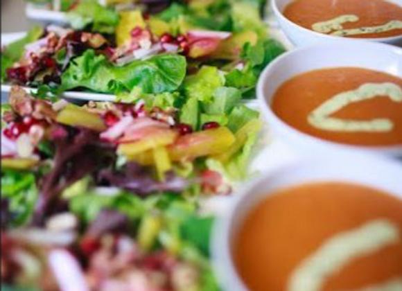 Soup and salad bundle