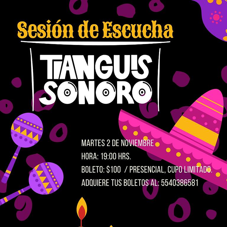 Ofrenda/Ritual Tianguis Sonoro