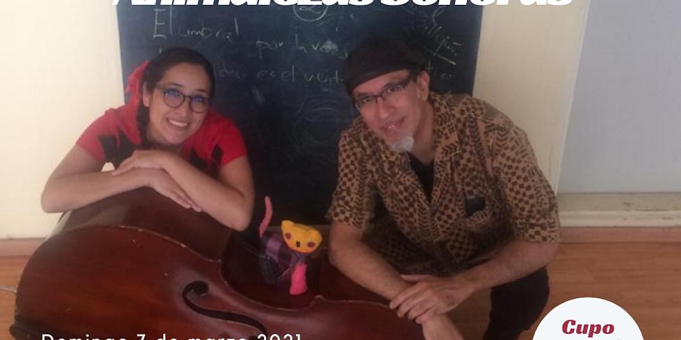 Animalezas Sonoras. Nur Slim & Aarón Cruz