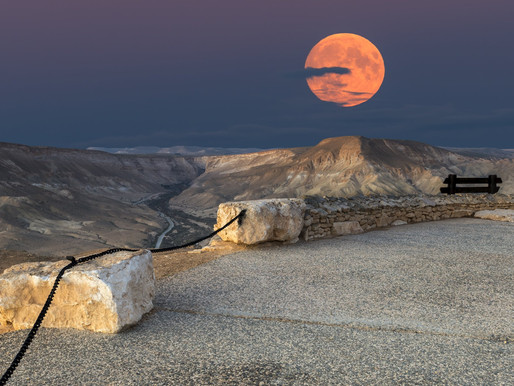 Happy Moon Day (Yesterday) from Israel