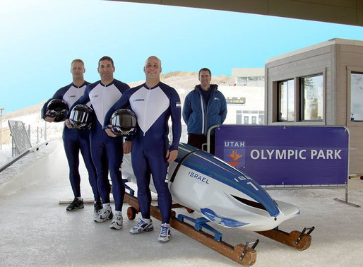 Some People They Can't Believe... Israel Has a Bobsled Team!