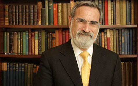 Shabbat Shalom from Israel: Please Pray for Rabbi Jonathan Sacks