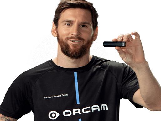 Leo Messi Joins Israeli Startup to Make Glasses for the Blind