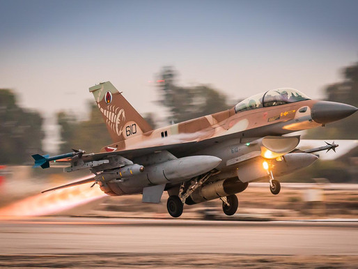Israeli Air Force Flew Over Germany Today for the First Time