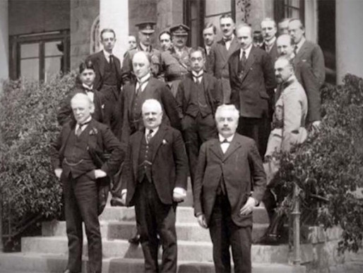 100 Years since San Remo - The Conference You Never Heard of but Whose Importance to Israel is Huge