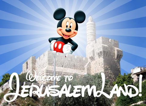 Disneyland is Coming to Jerusalem!