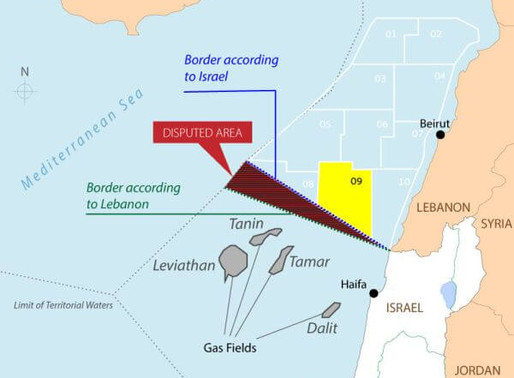 Israel and Lebanon to Negotiate Maritime Border Next Week